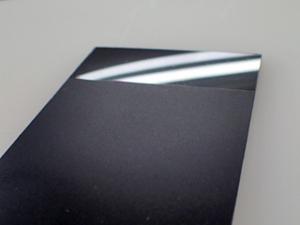 樹脂のサンドブラスト