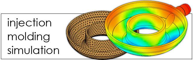 樹脂流動解析(金型充填・射出成形)