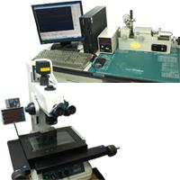 測定顕微鏡と歯車噛合試験機