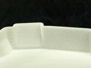 粉末造形の積層目